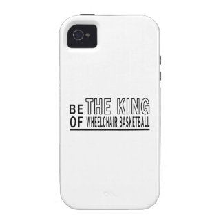 Be The King Of Wheelchair Basketball Case-Mate iPhone 4 Cover