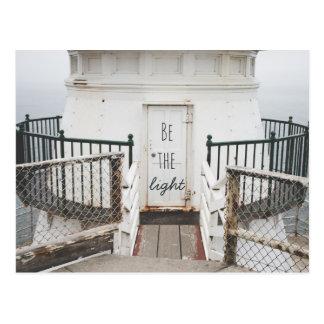 Be the Light - Point Reyes Lighthouse   Postcard