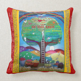 Be the Tree Pillow - Fruits of the Holy Spirit