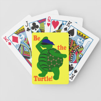 Be the Turtle Bicycle Card Deck