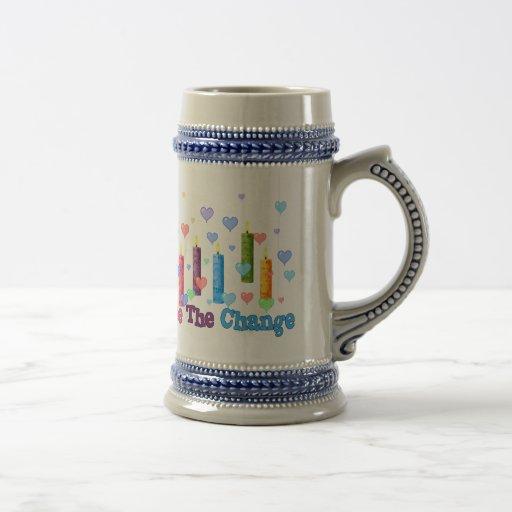 Be The  World Change Mug