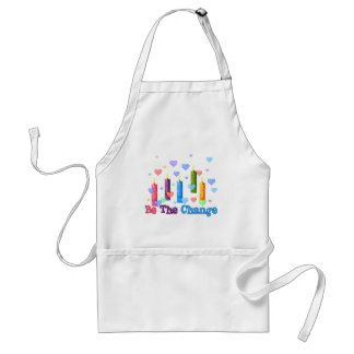 Be The  World Change Standard Apron