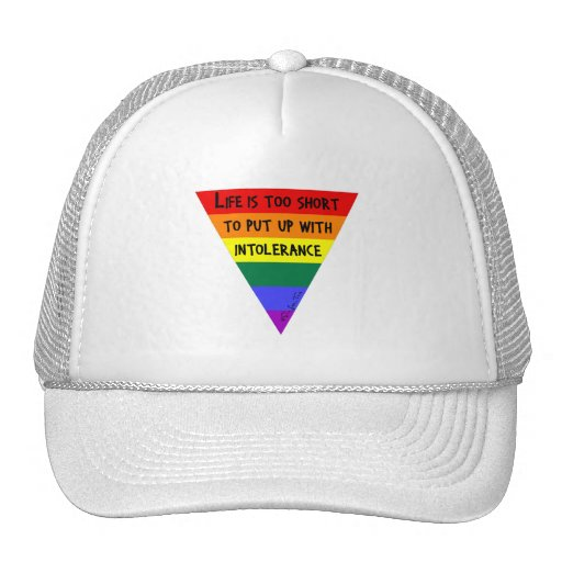 Be Tolerant Trucker Hat