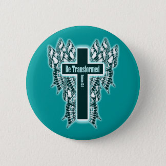 Be Transformed – Romans 12:2 6 Cm Round Badge