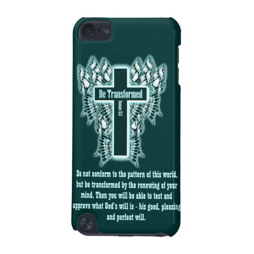 Be Transformed – Romans 12:2 iPod Touch 5G Cover