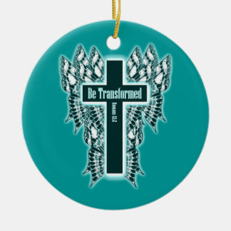 Be Transformed – Romans 12:2 Christmas Ornaments