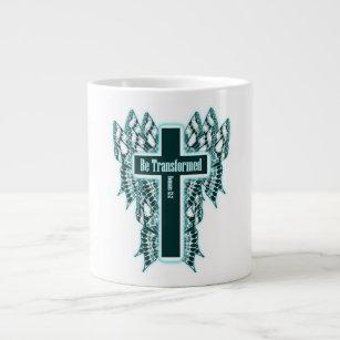 Be Transformed – Romans 12:2 Large Coffee Mug