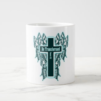 Be Transformed – Romans 12:2 Large Coffee Mug