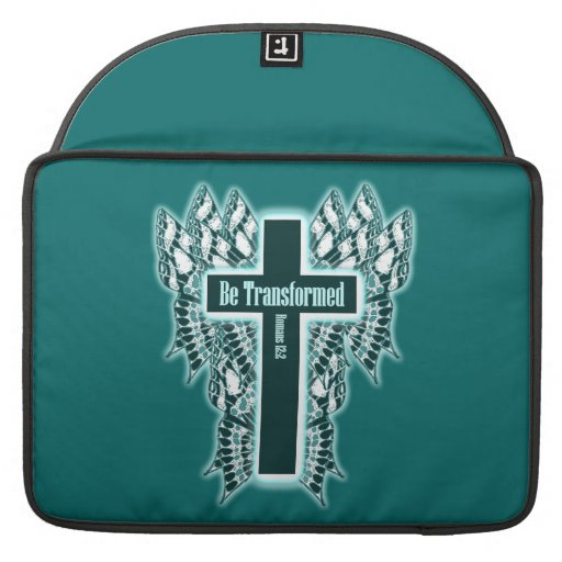 Be Transformed – Romans 12:2 Sleeves For MacBooks