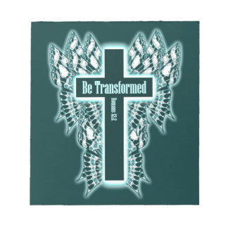 Be Transformed – Romans 12:2 Note Pads