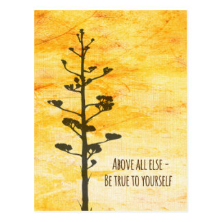 Be True to Yourself Postcard