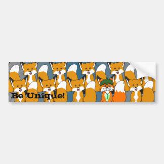 Be Unique! Bumper Sticker