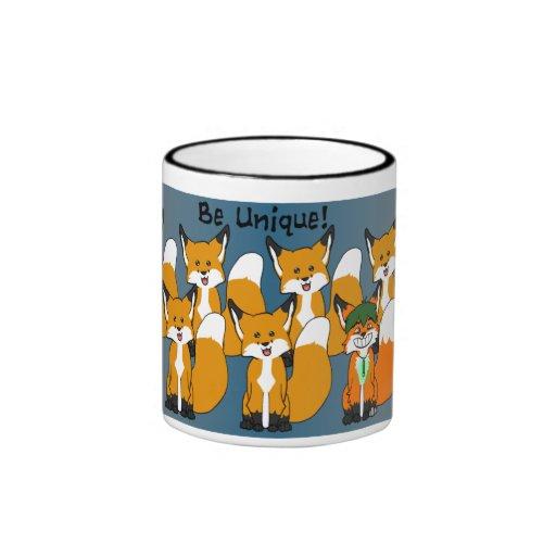 Be unique ringer coffee mug zazzle for Coffee mugs unique design