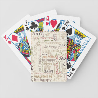 Be vintage bicycle playing cards