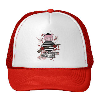 """Be Wanted""- pig Cap"