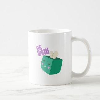 Be Well Basic White Mug