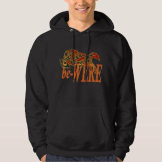 be-WERE Werewolf design Hooded Pullovers