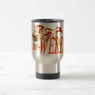 be-WERE Werewolf design Stainless Steel Travel Mug