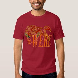 be-WERE Werewolf design T-shirts