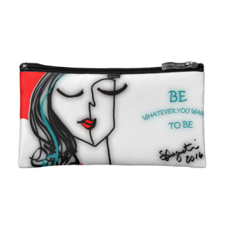BE WHATEVER YOU WANT TO BE - COSMETIC BAG
