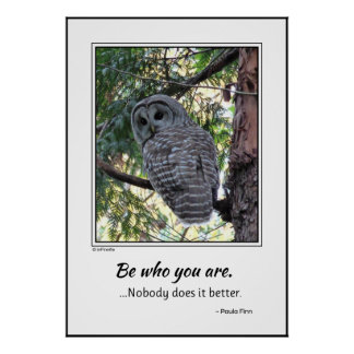 Be Who You Are Poster