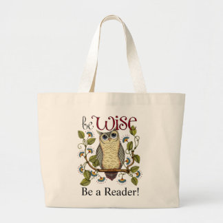 Be Wise - Be A Reader Book Bag