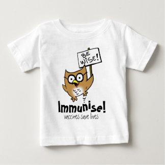 Be Wise! Immunise! Baby T-Shirt