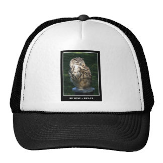 Be Wise - Relax Motivational Hat