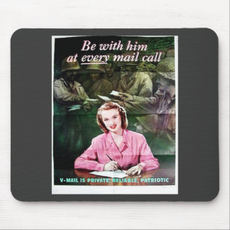 Be With Him Mouse Pads