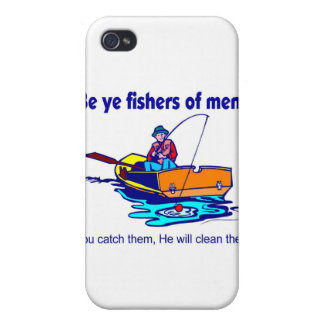 Be ye fishers of men cases for iPhone 4