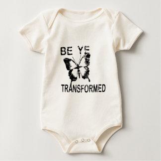BE YE TRANSFORMED BABY BODYSUIT
