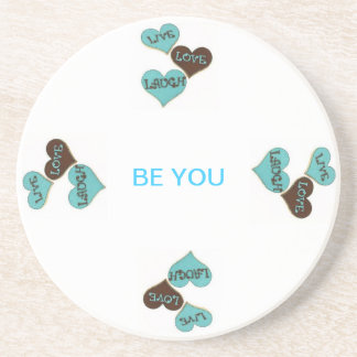 Be You Beverage Coaster