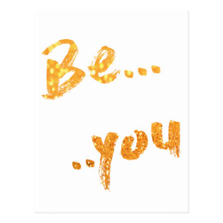 be you postcard