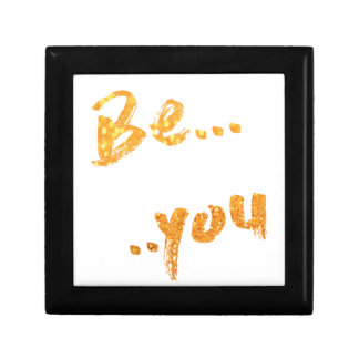be you small square gift box