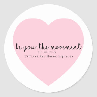 be You: The Movement logo stickers