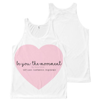 Be You: The Movement logo tank All-Over Print Tank Top