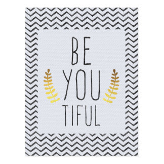 Be You Tiful Postcard