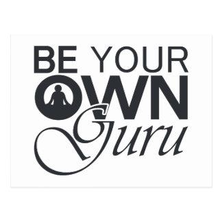 Be Your Own Guru Postcard