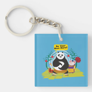 Be Your Own Hero Key Ring