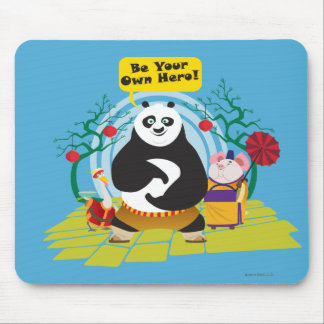 Be Your Own Hero Mouse Mat