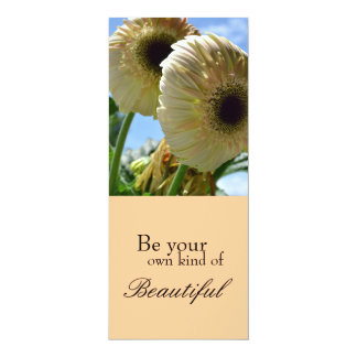 Be Your Own Kind of Beautiful Bookmark 10 Cm X 24 Cm Invitation Card
