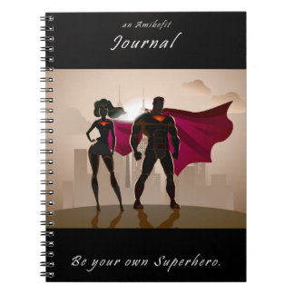 Be Your Own Superhero - An Amibefit Journal Note Books