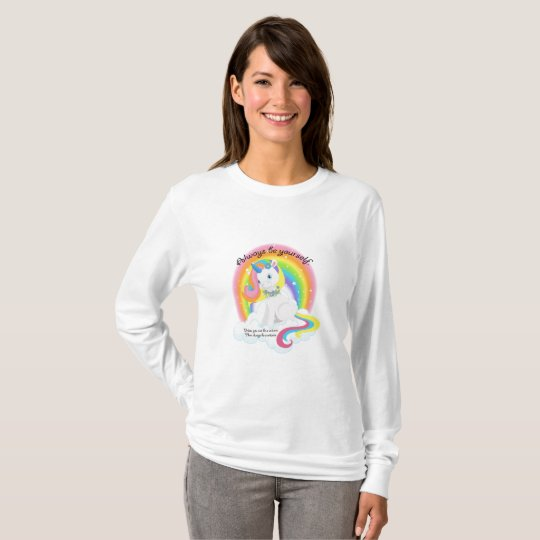 Be Yourself, Be a Unicorn Women's Long Sleeve