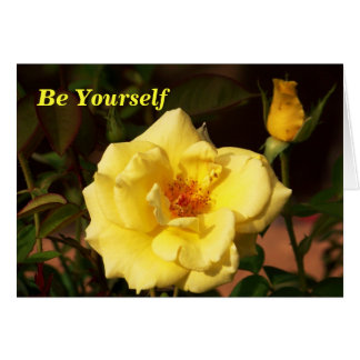 Be Yourself_ Card_by Elenne Greeting Card