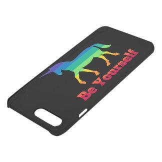 Be Yourself Rainbow Unicorn iPhone 8 Plus/7 Plus Case