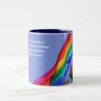 Be Yourself Two-Tone Mug