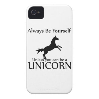 Be Yourself Unicorn iPhone 4 Cover
