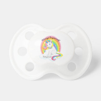 Be Yourself. Unicorn Magical Pacifier
