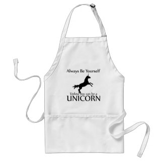 Be Yourself Unicorn Standard Apron