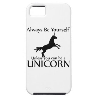Be Yourself Unicorn Tough iPhone 5 Case